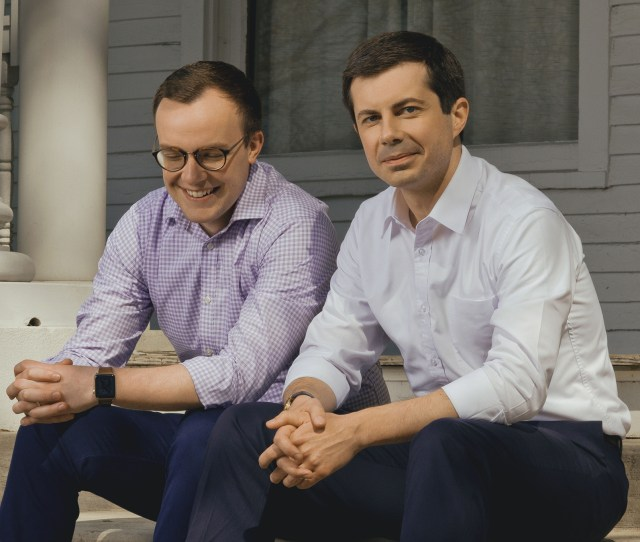 Watch At Home With Mayor Pete Buttigieg And His Husband Time
