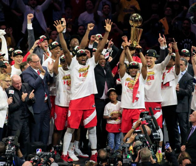 Toronto Raptors Defeat Golden State Warriors For Nba Title Time
