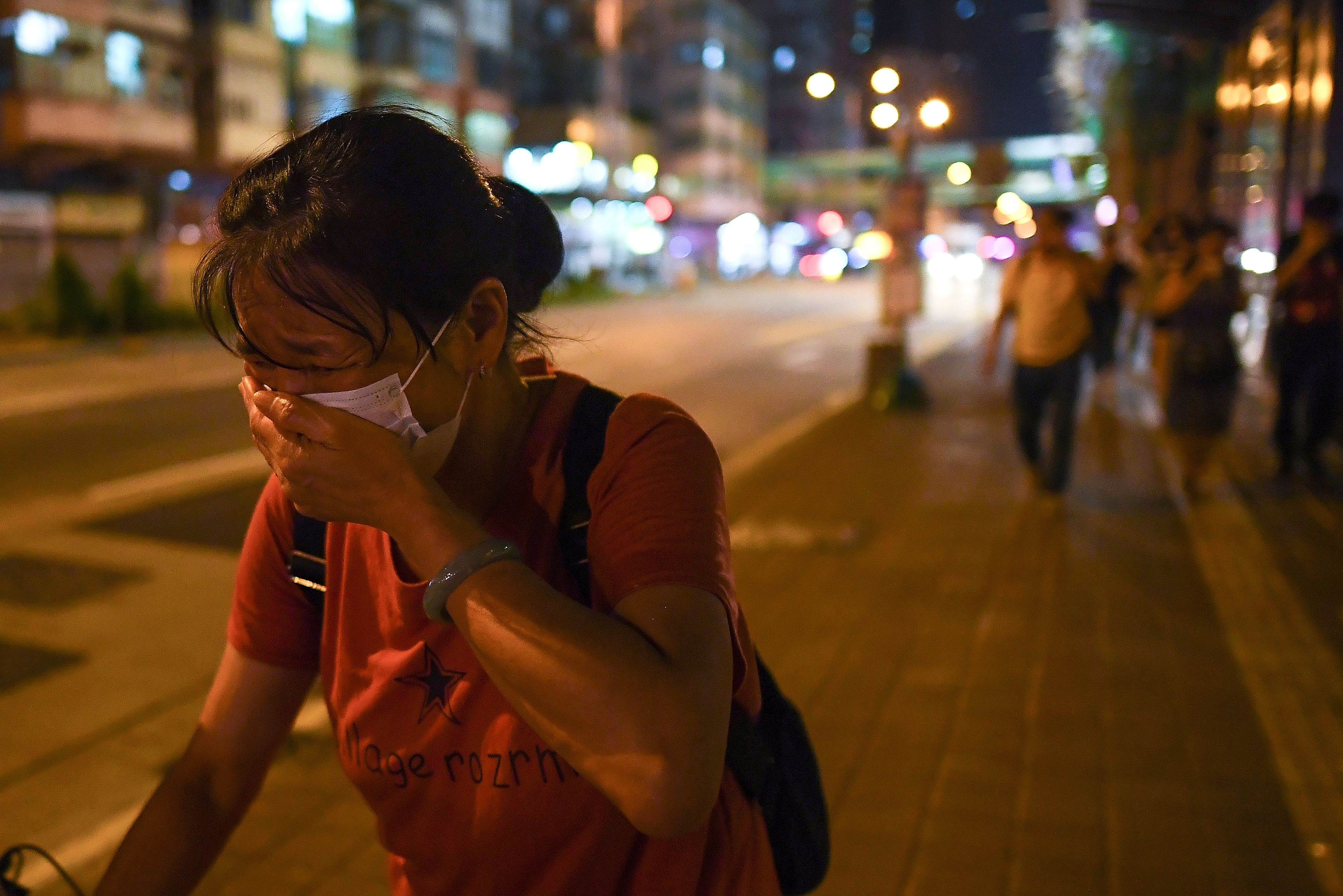 Tear Gas Sparks Public Health Anxiety in Hong Kong   Time