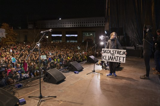On Dec. 6, tens of thousands of people flooded Madrid to join Thunberg's call for global action on climate change