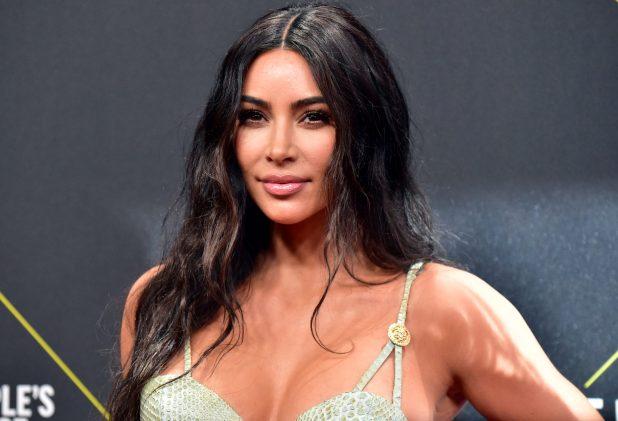 Kim Kardashian attends the 2019 E! People's Choice Awards on Nov. 10, 2019 in Santa Monica, California.