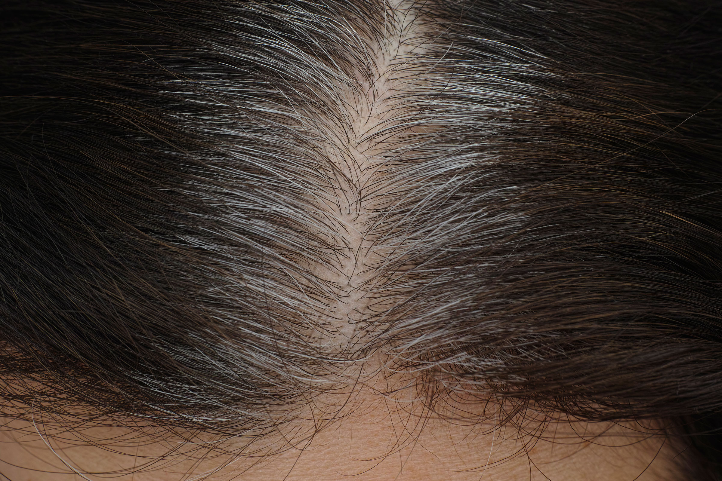 The Coronavirus Pandemic Is Helping Me Embrace My Gray Hair Time