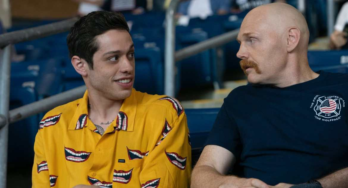 Pete Davidson and Bill Burr in King of State Island