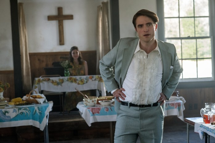 Robert Pattinson is a bad preacher in 'The Devil All the Time.'