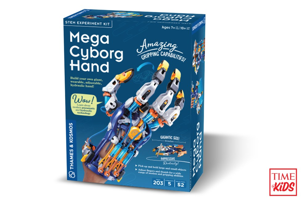 Picture of Mega Cyborg Hand for toy guide.