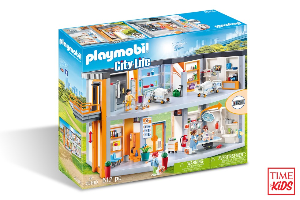 Picture of Playmobil Large Hospital for toy guide.