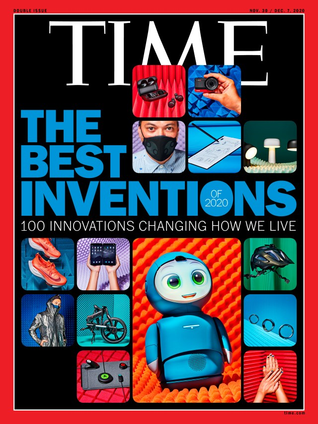 Best Inventions of 2020 Time Magazine cover