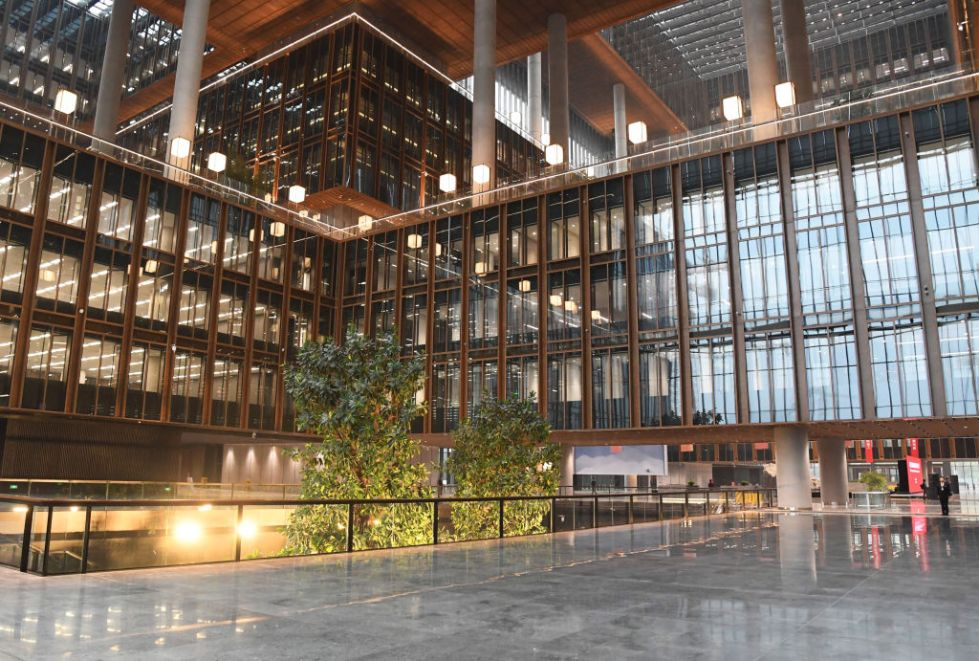 CHINA-BEIJING-AIIB-HEADQUARTERS-COMPLETION (CN)