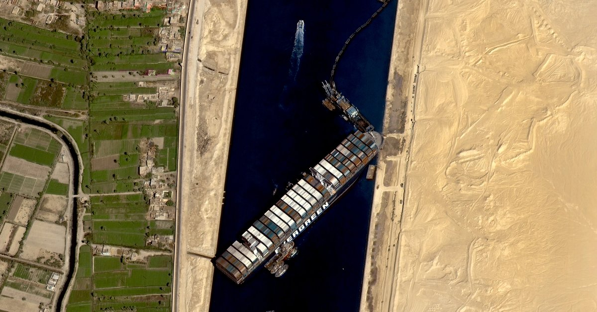 Why the Suez Canal Blockage Should Worry Us About the Future   Time