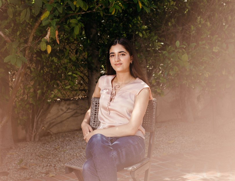 Kelly Danielpour, founder of the website VaxTeen.org, in Los Angeles, June 16, 2021. (Jessica Pons/The New York Times)