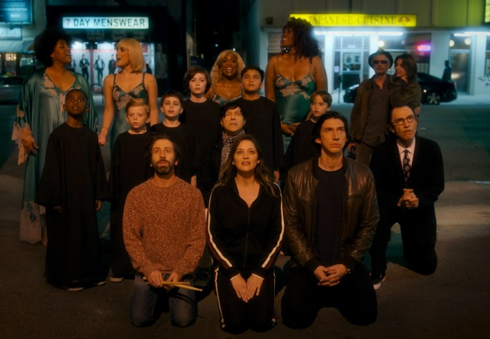 The opening musical number, 'So May We Start,' is the movie's strongest