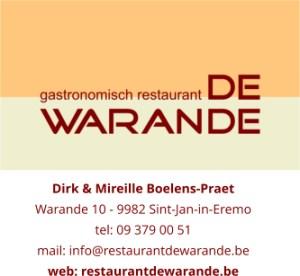 Restaurant De Warande