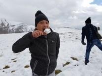 first taste of snow