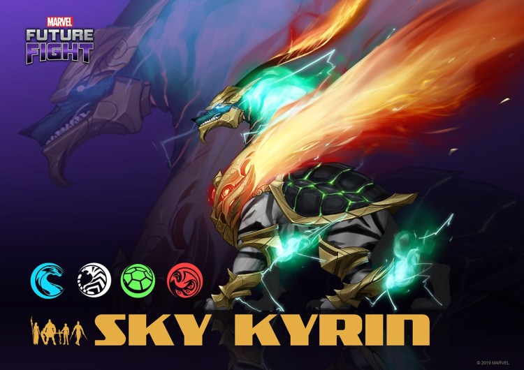 Sky Kirin, unveiled for the first time at Level Up KL. — Marvel