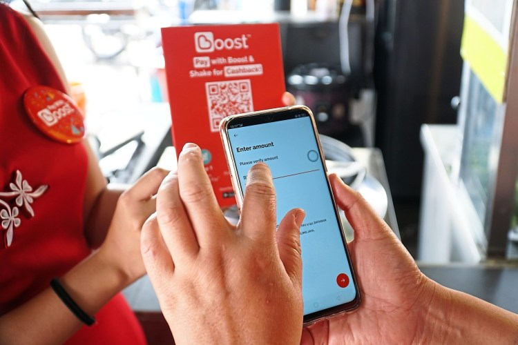 Boost introduces several new features to its e-wallet system. — Boost