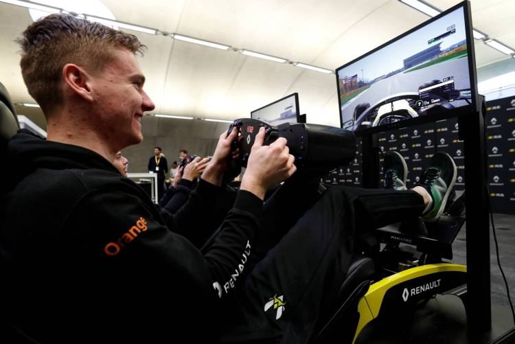 'Physical training in esports is much more about being healthy, staying flexible because obviously sitting in a simulator for a big part of the day is going to make you stiff,' Opmeer told Reuters.