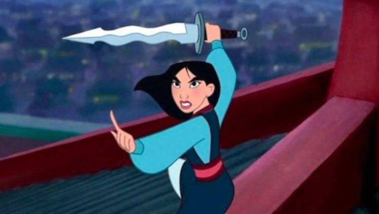 Mulan is expected to be demure and subservient and she can't help herself.