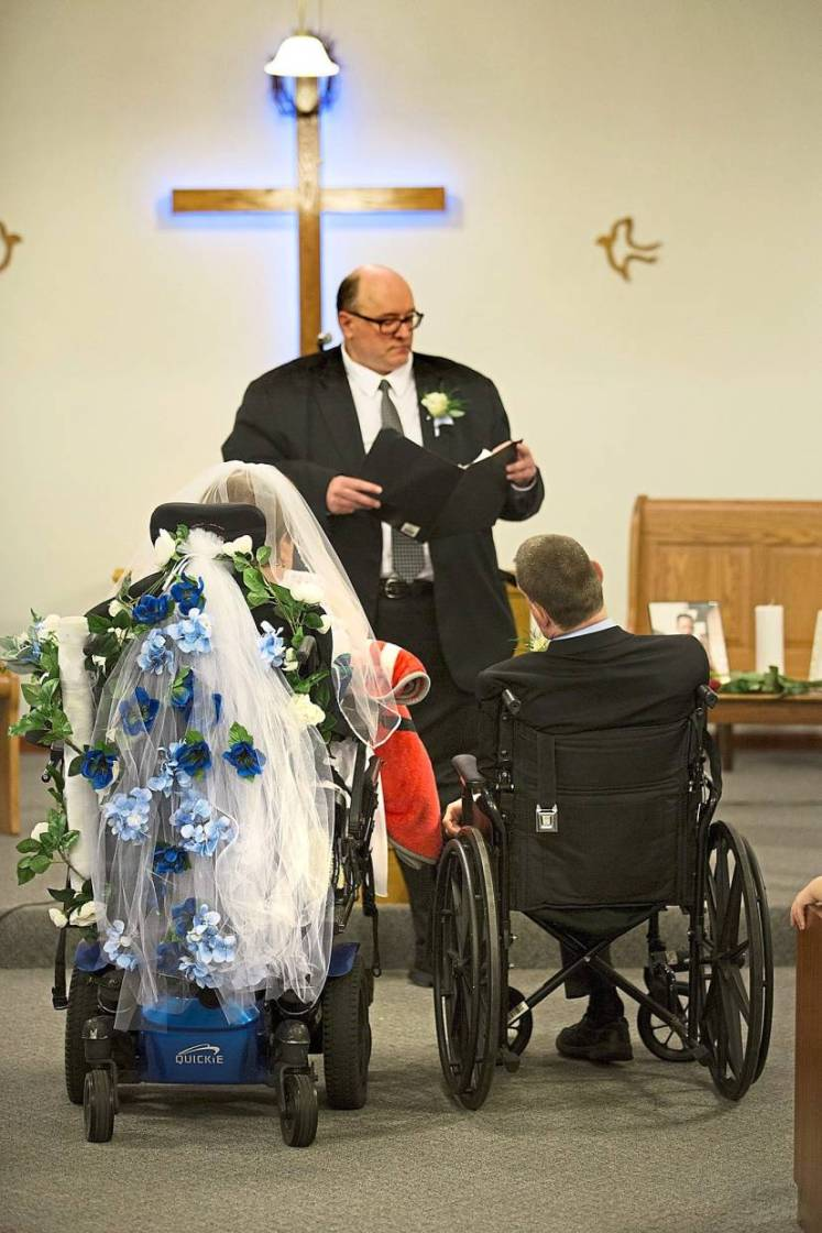 After a years-long fight for their right to marry without losing any of their disability income, Bill and Sherri finally wed recently.