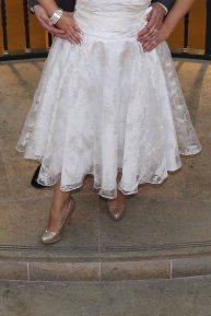 brides dress-brides heels-wedding photos