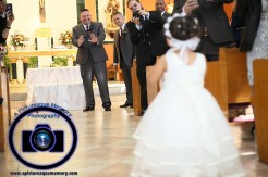 #njwedding, #njweddingphotography, #newbrunswickweddingphotographer#weddingphotos, #apicturesquememoryphotography, #ourladyofmountcarmelweddingphotographer, #weddingceremony, #groom, #Flowergirlwalkingdownaisle