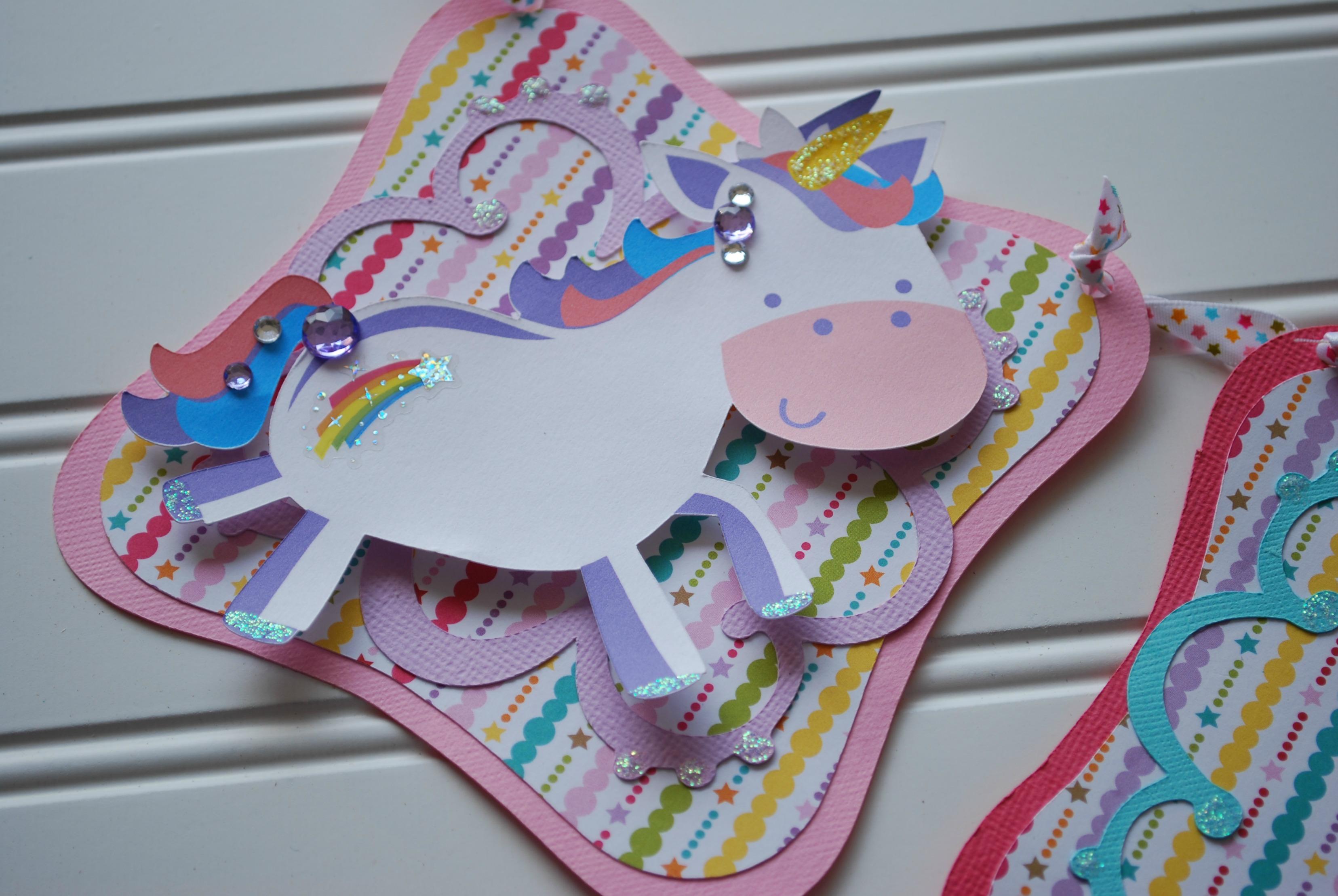 Little Girls Are Made Of Rainbow & Unicorn Magic A Piece