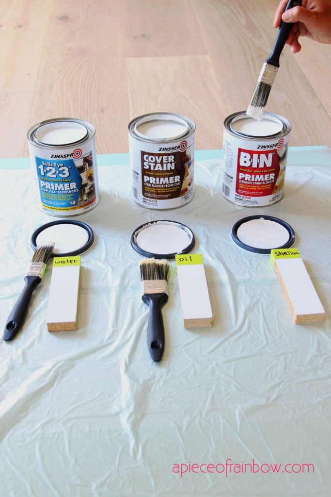 How To Thin Water Based Paint : water, based, paint, Paint, Primer, Latex, Shellac, Based, Piece, Rainbow