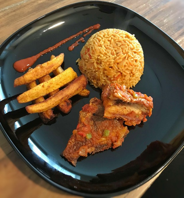 Food and Interracial dating- Jollof rice