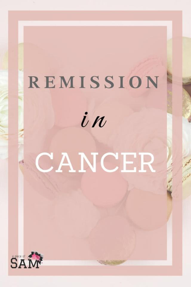 Remission in Cancer
