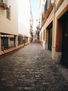 Alleyway in Seville