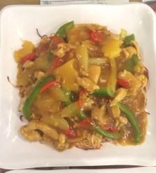 satay chicken noodles