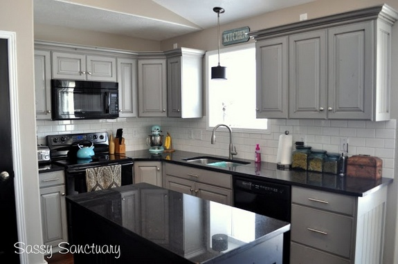 +20 The Most Popular Gray Glazed Kitchen Cabinets Diy ...