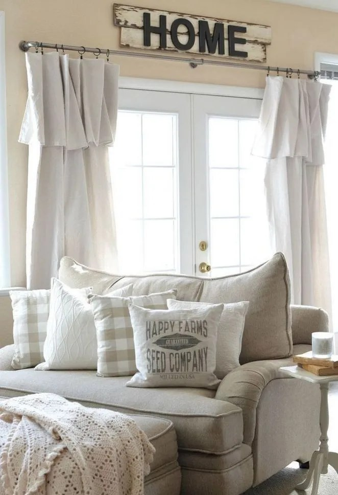 31 The Basics Of Farmhouse Curtains Living Room Farm House That You Can Benefit From Starting Immediately 11 Apikhome Com