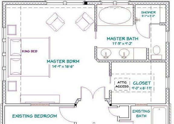 39 Things To Consider For Master Bedroom Design Layout Floor ...