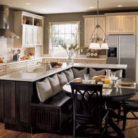 43+ Kitchen Island Dining Table Combo Small Spaces - an in Depth Anaylsis on What Works and What Doesn't