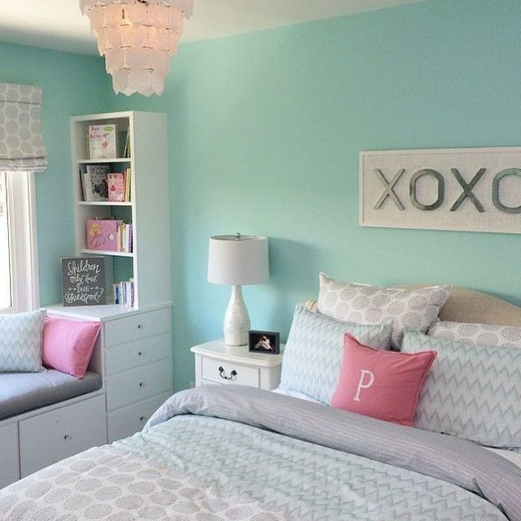 52 A Secret Weapon for Teal and Seven Pink Awesome Bedroom ...