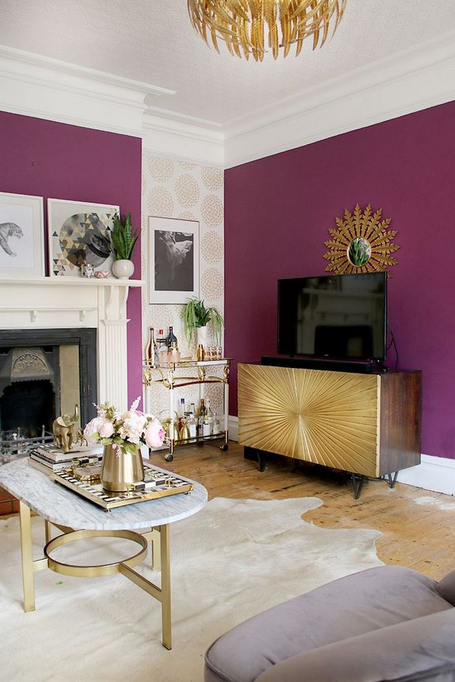 +32 Who is Concerned About Grey and Purple Living Room ...