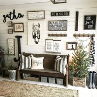 40+ Facts, Fiction and Wall Collage Ideas Living Room Rustic
