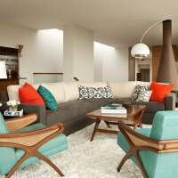 25+ Most Noticeable Mid Century Modern Living Room Ideas