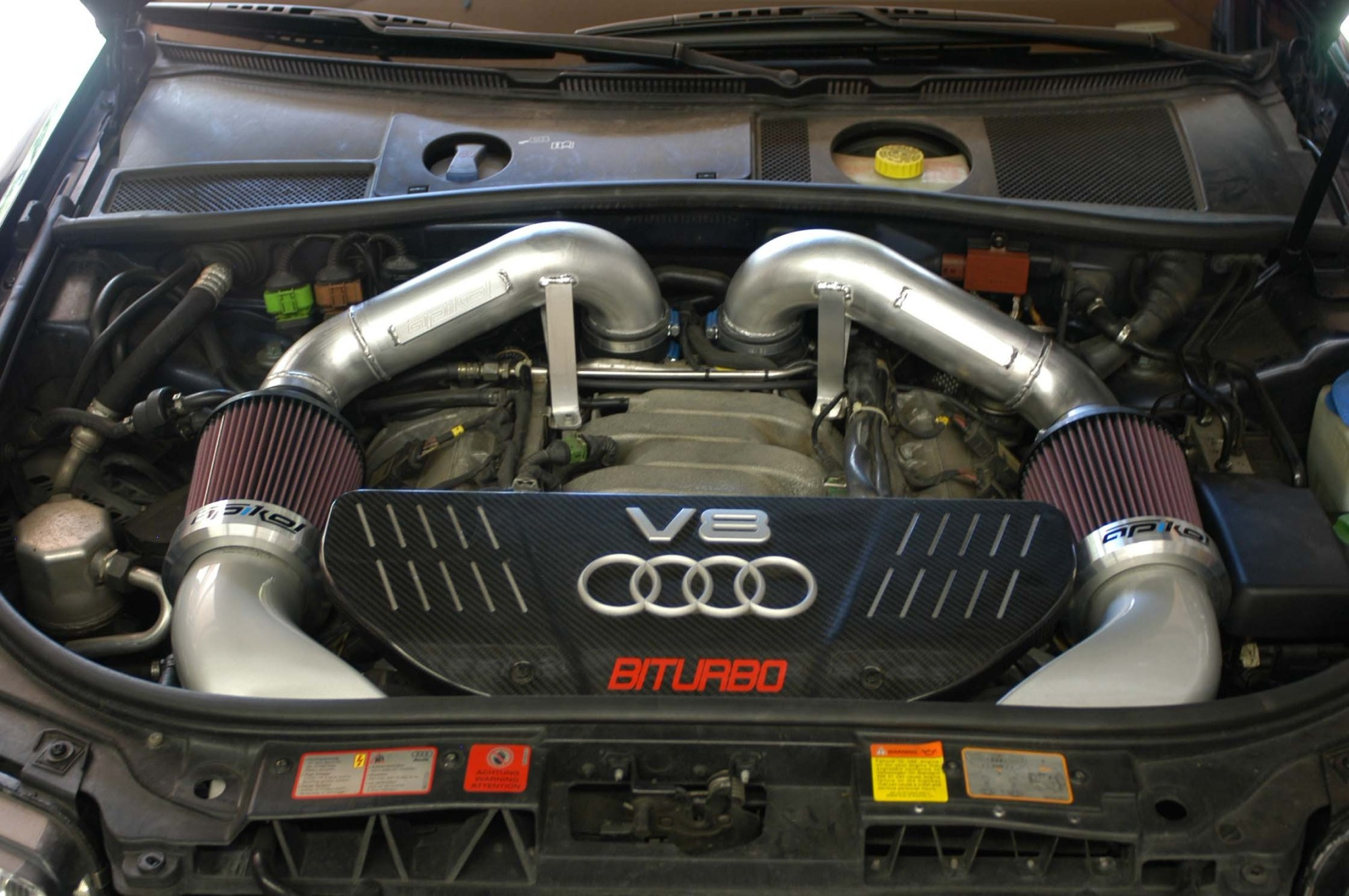 hight resolution of c5 rs6 intake system