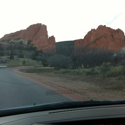 Garden of the gods… wished it was named just Garden of the God… since He is the one that created it