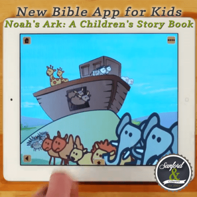 New Bible App for Kids:
