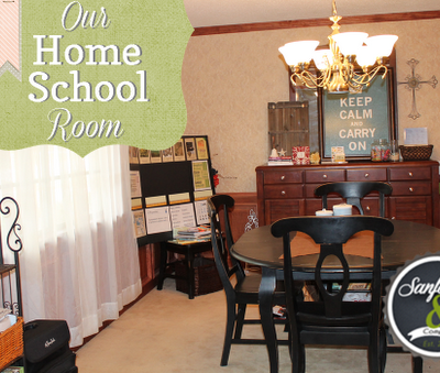 Our Home School Room 2012