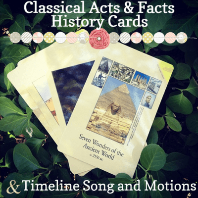Classical Conversations New Timeline Motions