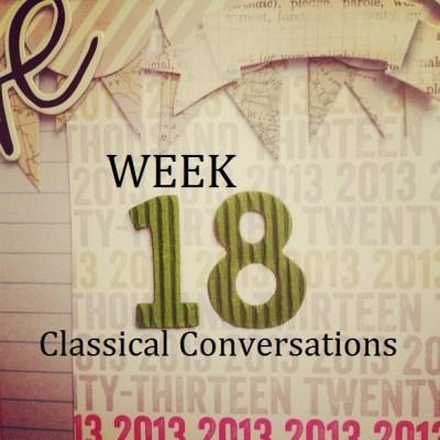 C1:W18 Classical Conversations