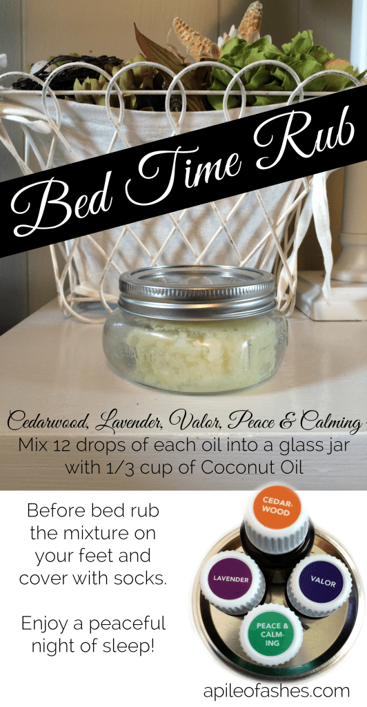 Bed Time Rub {Sleep Tight!} | apileofashes.com