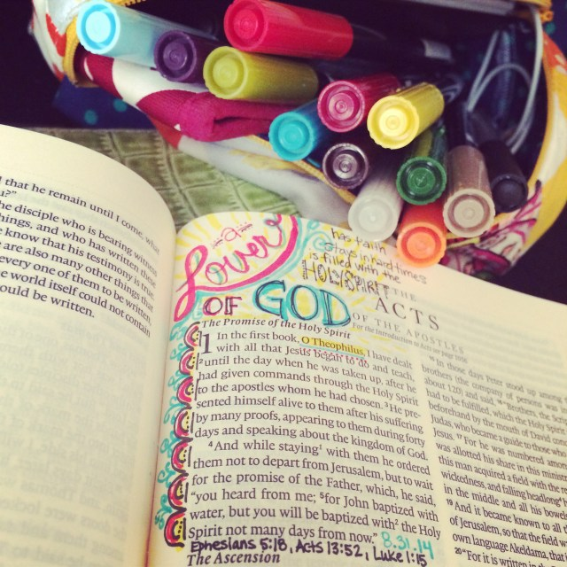 Journaling Bible | A Lover of God  apileofashes.com