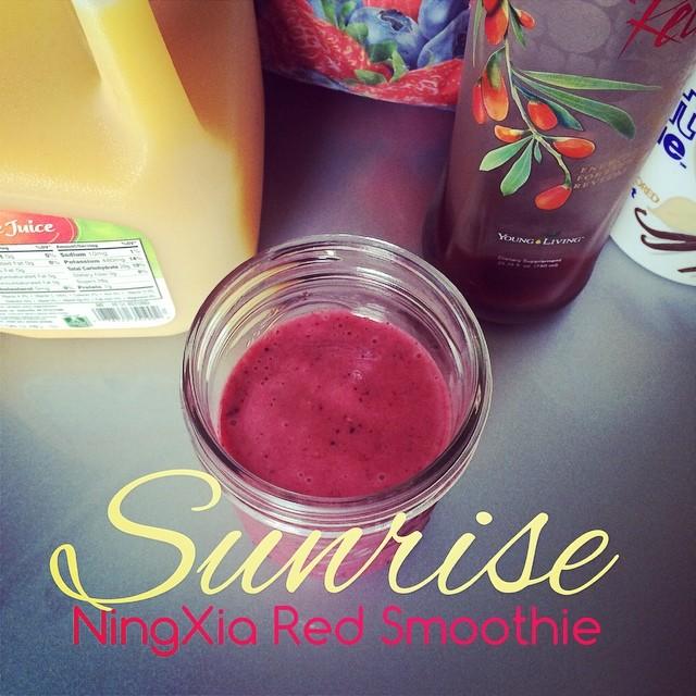 Surise NingXia Red Smoothie   apilefoashes.com