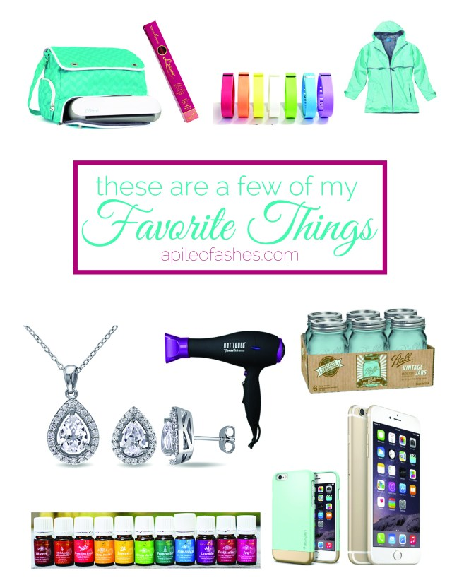 These are a few of my favorite things | apileofashes.com