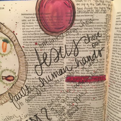 Journaling Bible | The Last Supper