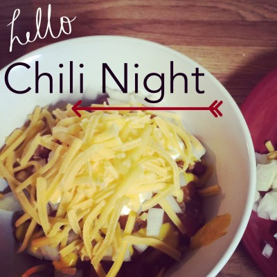 Cheap Chili Night